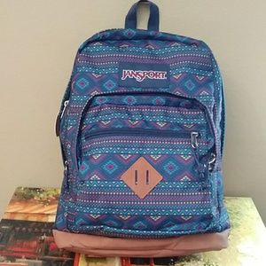 Jansport large backpack city view